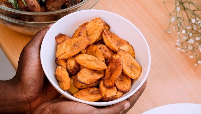 Fried or boild plantains. The best plantain for your health