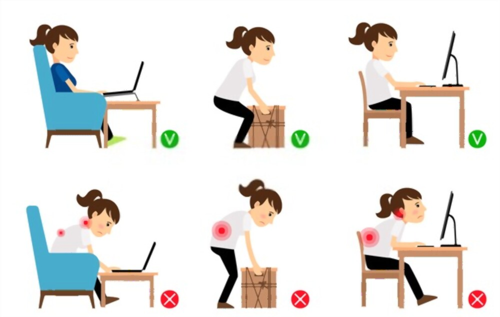 Importance of good posture. The way you sit, stand, and walk can affect your life.