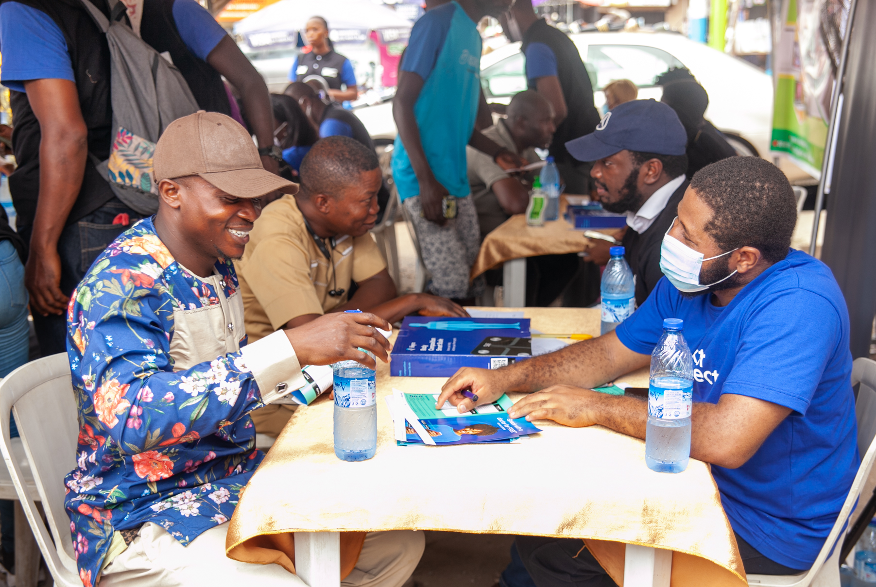 Free Blood Pressure Test for over 300 People in Lagos State.